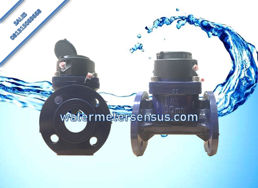 Flow meter air Limbah SENSUS DN 125 – Water meter SENSUS wpi 5 inch