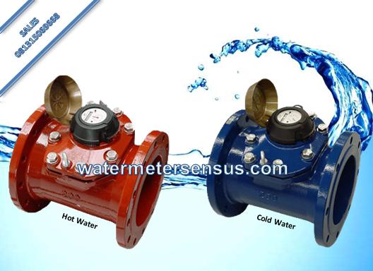 Water Meter Sensus WP QF Air Panas 130°  DN80 (3 Inch)