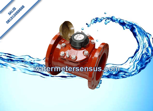 Water Meter SENSUS WP-QF Air Panas 130° DN100 (4 Inch)