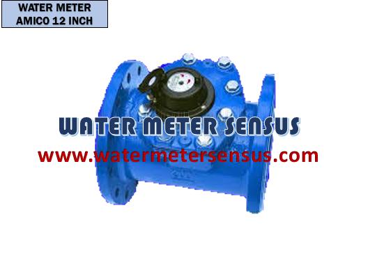 Jual Water meter AMICO 12″(300mm) – Water meter AMICO DN300 – Water meter AMICO 12inch – Ditributor Water meter AMICO