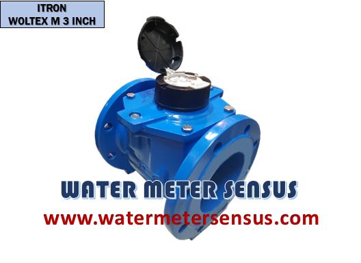 """Flow meter Itron Woltex M 100mm - Jual flow meter Itron - Flow meter Itron woltex M 4""""(100mm)"""