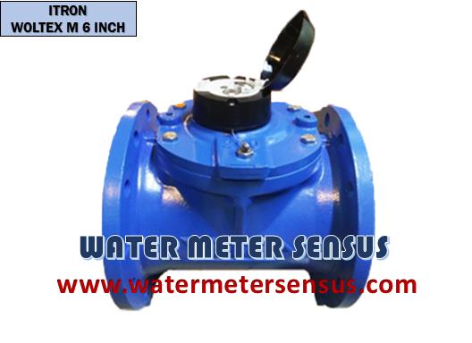 Flow meter Itron 6 inch(150mm) – Jual flow meter Itron Woltex M 150mm – Flow meter Itron 6″
