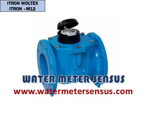 Flow meter Itron Woltex M 12″ – jual Flow meter 300mm Itron Woltex M – water meter air dingin