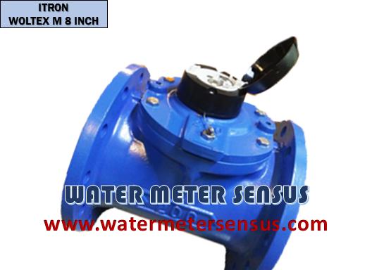 Jual Flow meter Itron Woltex M 8″(200mm) – Flow meter Air dingin Woltex M 200mm – Itron woltex M Flow meter 8″