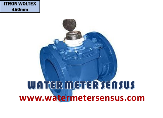 Flow meter Itron – Jual Flow meter Itron woltex M 450mm – Water meter Air dingin Itron Waltex M 16″