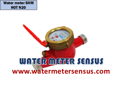 Water Meter SHM Air Panas DN20 (¾ INCH)