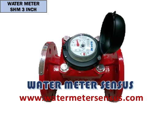Water Meter Air Limbah SHM Hot Water 3 Inch DN80