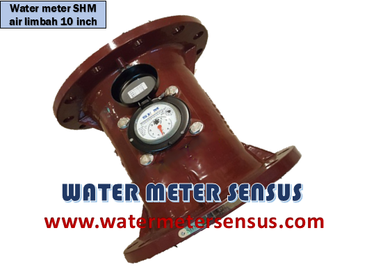 WATER METER AIR LIMBAH SHM  10 INCH (250 MM)