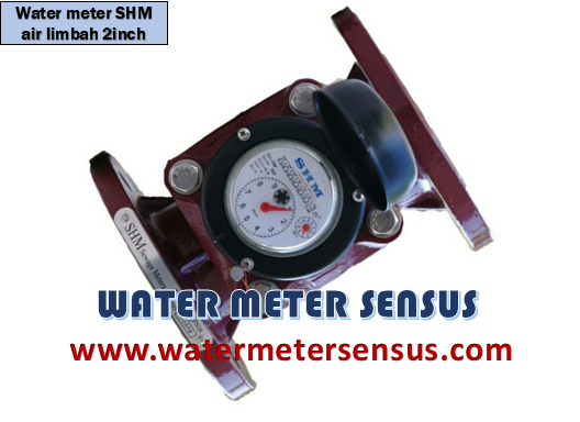 WATER METER AIR LIMBAH SHM  2 INCH (50 MM)