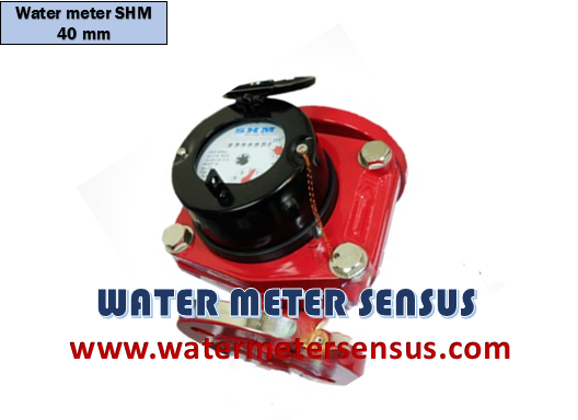 "WATER METER SHM HOT WATER 1½"" 40 MM"