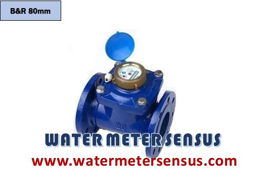 Water meter Br 3″ – Water meter B&R 80mm – Jual water meter Br 3 inch – meteran air B&R 3 inch